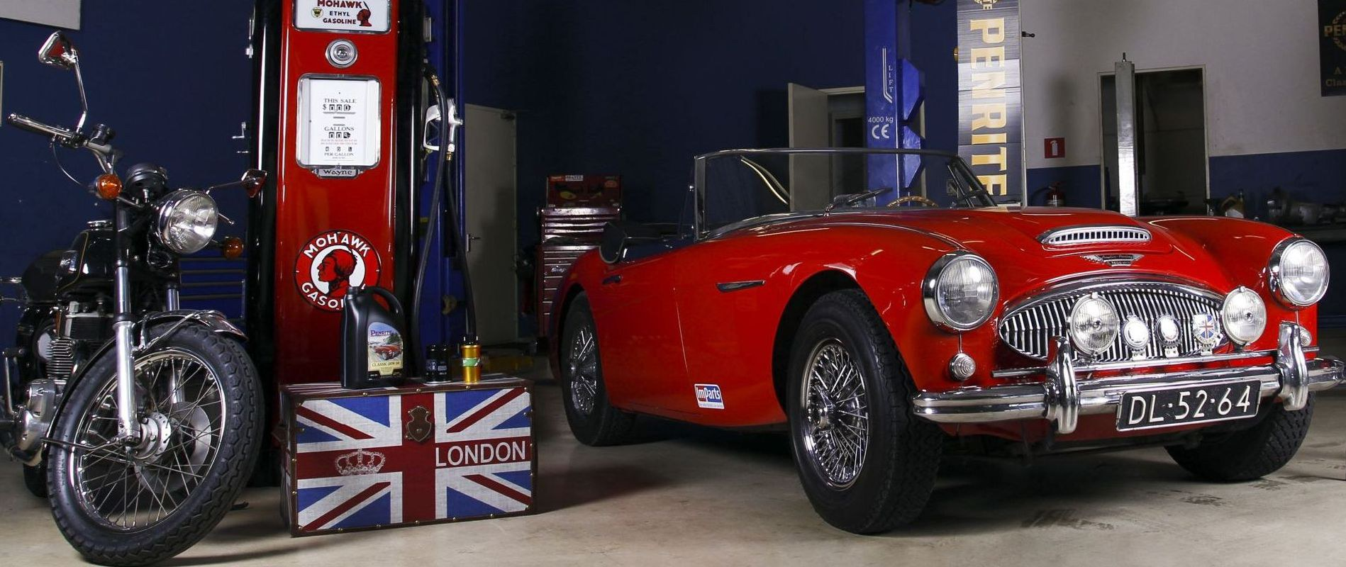 Parts for Austin Healey 3000