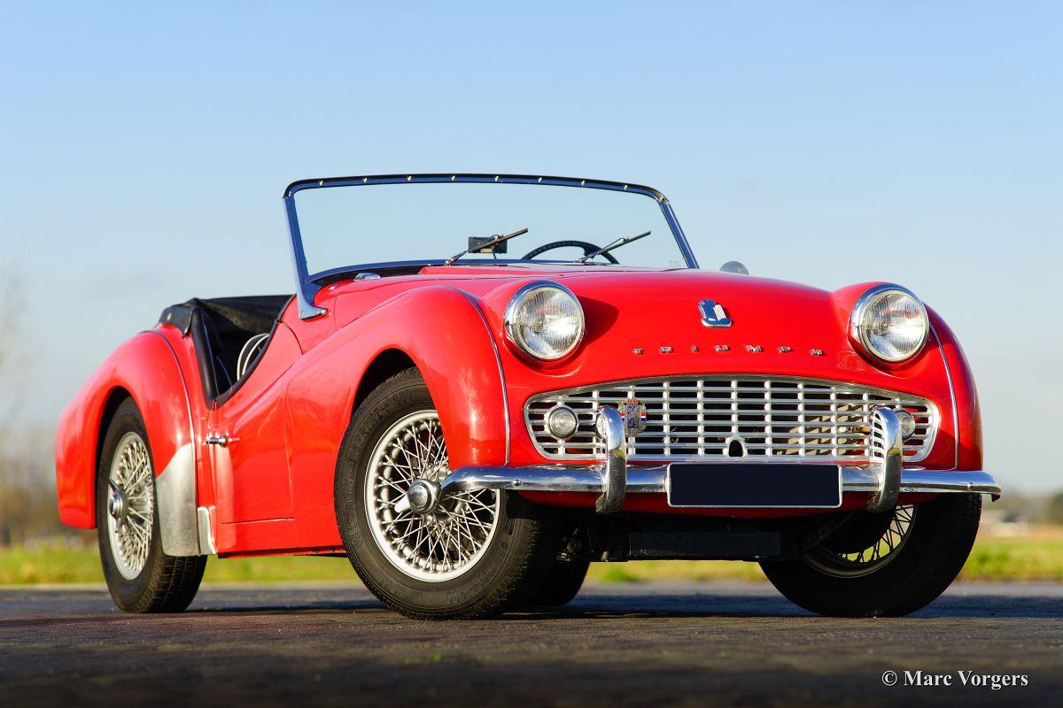 Triumph TR3A parts